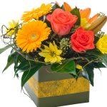 """Cheerful Remembrance"" Floral Arrangement"