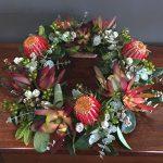 """""""Native Remembrance Wreath"""" Floral Arrangement"""