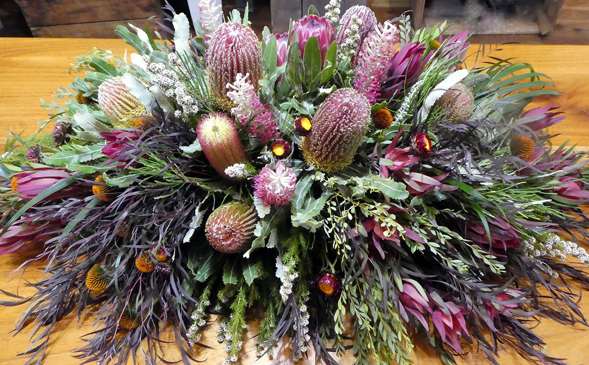 Native Grandeur Flower Tribute